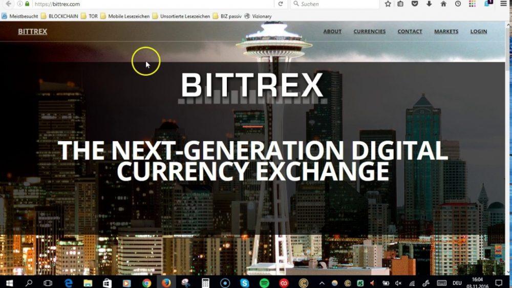 【仮想通貨口座開設】Bittrex(ビットトレックス)口座開設を徹底解説!