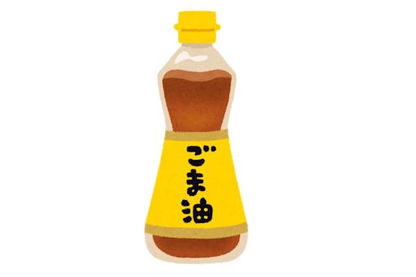 納豆とごま油