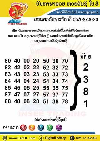 ปัญหาพารวย 5/03/2563, ปัญหาพารวย 5-03-2563, ปัญหาพารวย, ปัญหาพารวย 5 มี.ค. 2563, หวยลาว, เลขลาว