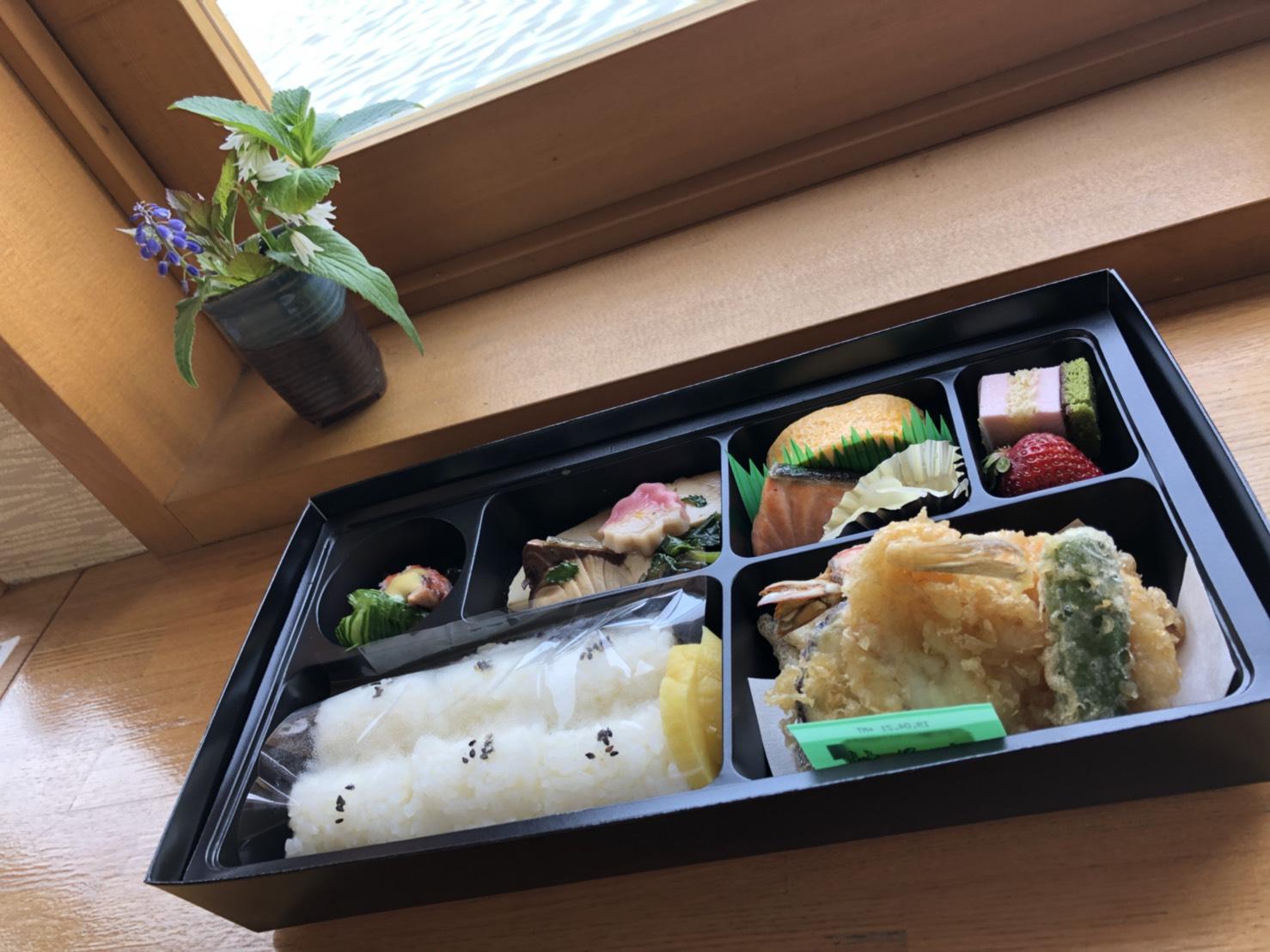 株主の方への昼食に・・・京ひろのお弁当