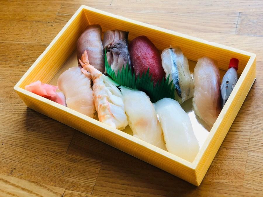 京ひろのお寿司メニュー3種類♪テイクアウトOK!