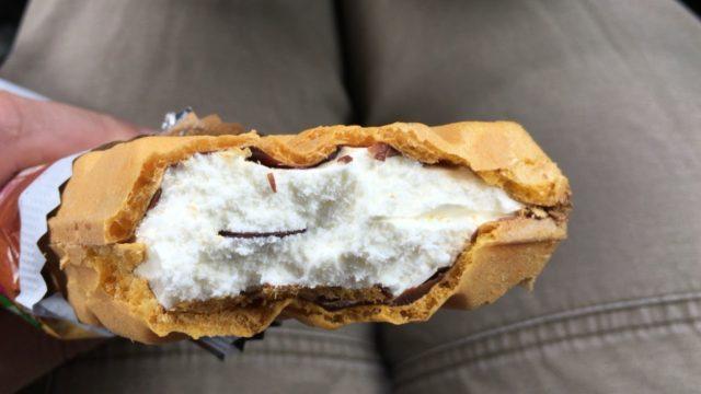 森永 チョコモナカジャンボはパリパリです