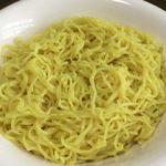 かんすいが使われている中華麺