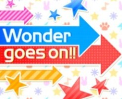 Wonder goes on!!