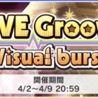 【デレステ】第11回「LIVE Groove Visual burst(ビジュアルバースト)」のボーダー予想と推移【ニュージェネイベント】