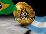 ブラジルとアルゼンチンのビットコインコミュニティがSegWit2xを非難