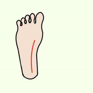 右足の裏3