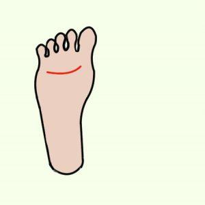 右足の裏4