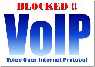 VOIP BLOCKED