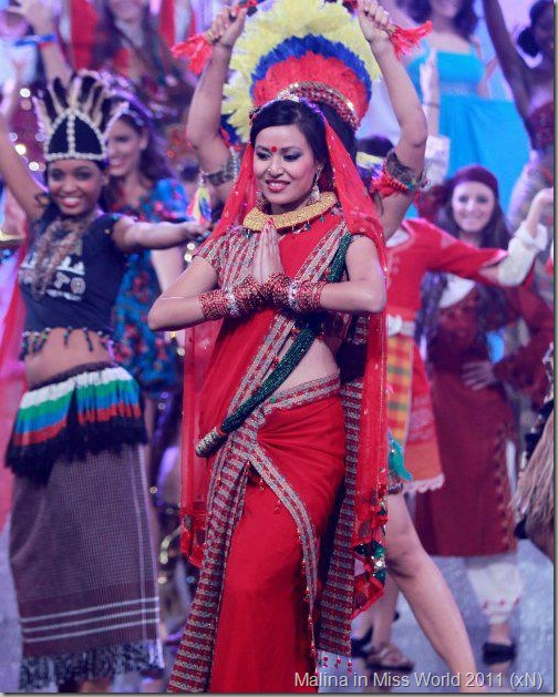 malina_miss_world_nepali_dress