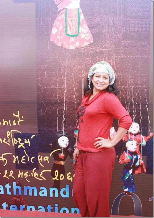 sarita_giri_kathmandu_festival