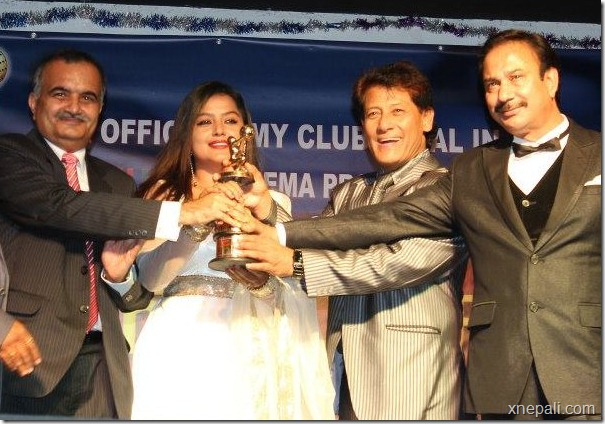 rekha_thapa_receives_award