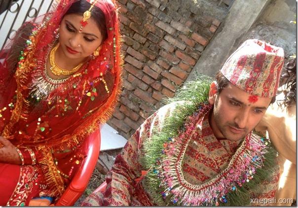 krisha chaulagai marriage