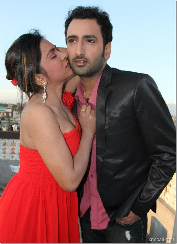 Krisha chaulagai _ pritam - valentine day photo (1)