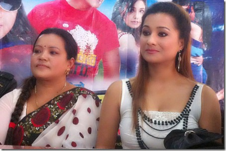 Rejina and Kbita - bardan press meet