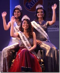 miss nepal 2013 winner top 3