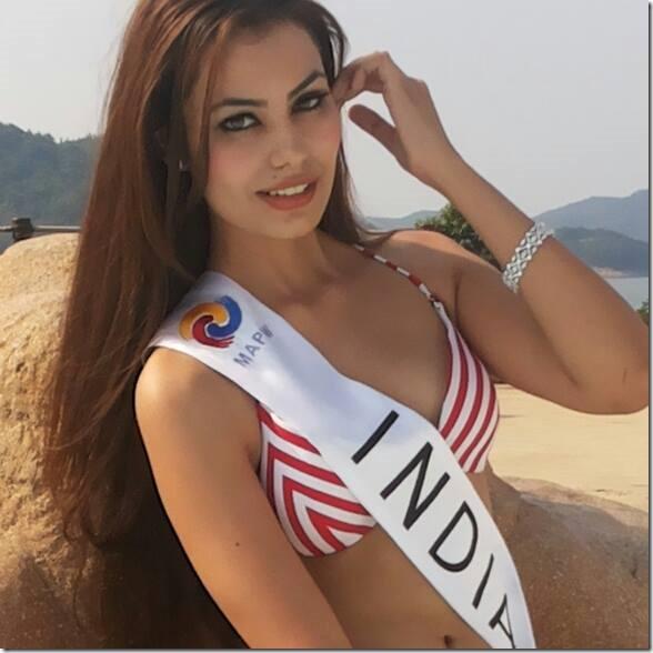 miss india - shristi rana - miss asia pacific 2013