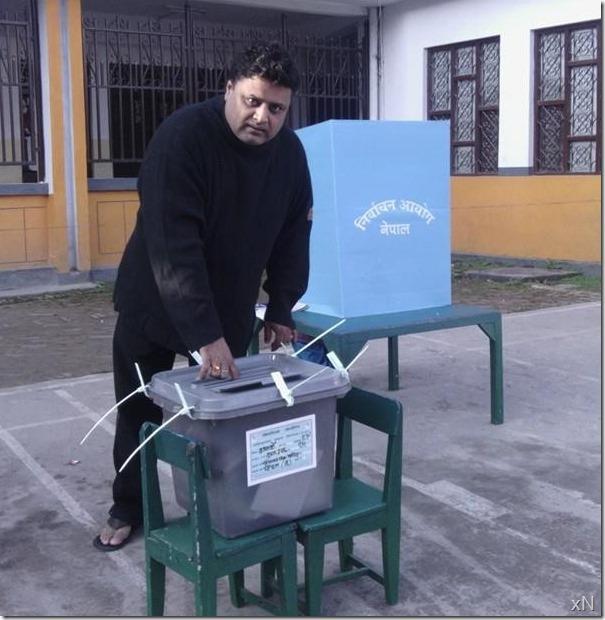 nirmal sharma - gaida votes