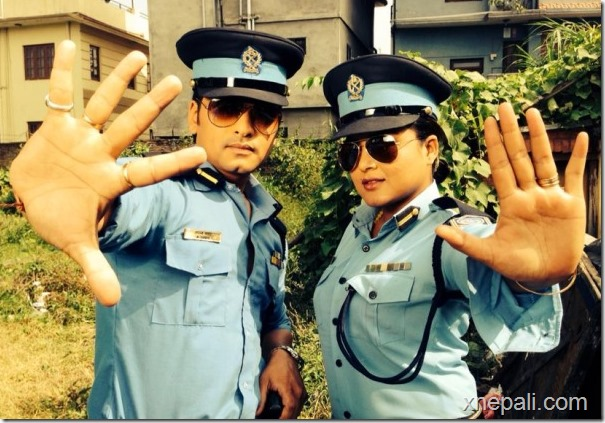 rekha thapa and sabin shrestha Damdar shooting police officer