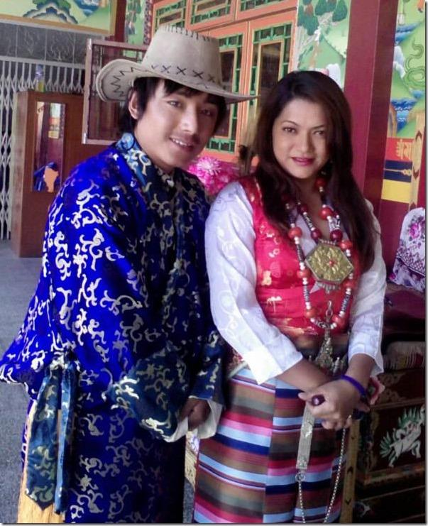 suajanya subba and karma sherpa in kusum