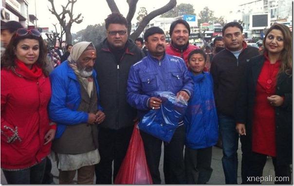chha ekan chha team distribute jackets
