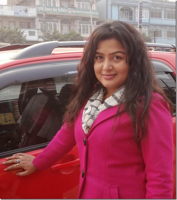 rekha thapa towards surkhet 1 - chitwan