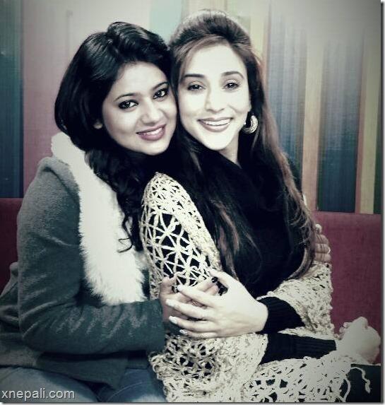 Keki Adhikari with Niruta Singh