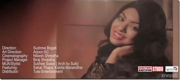 kabita manandhar in music video 3