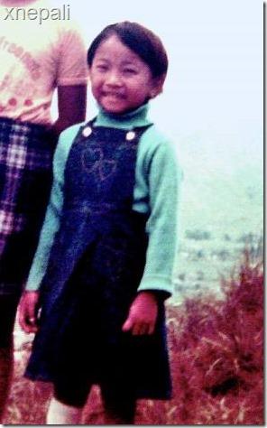 kala subba childhood photo (right)