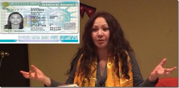 gauri malla us green card pr card