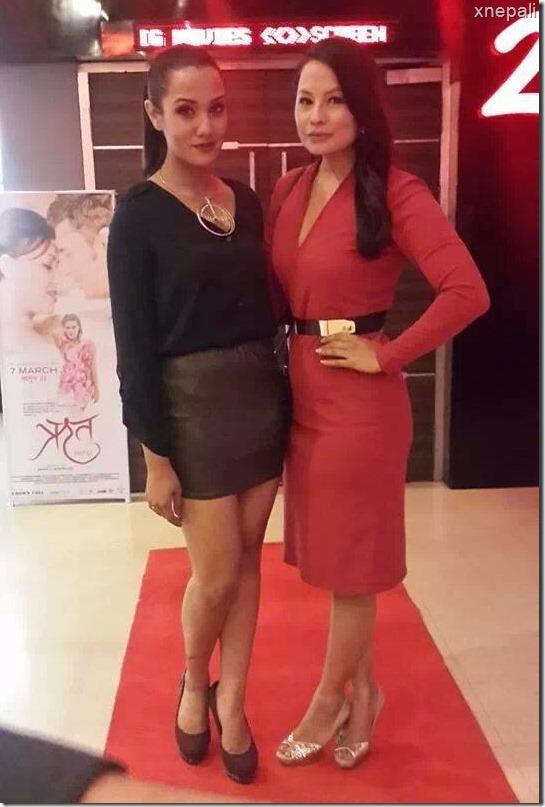 priyanka karki with malvika subba in ritu premier