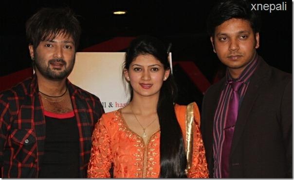 albida film announcement aryan sigdel hasan khan and anita