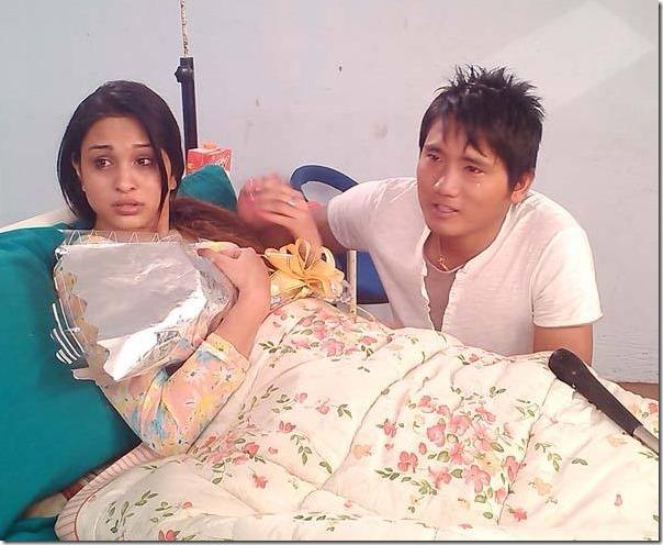 euta sathi shooting anu shah and tamang