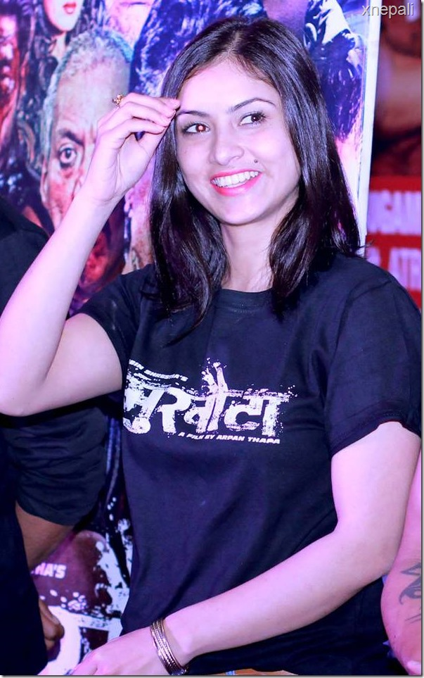 nisha adhikari mukhauta promot