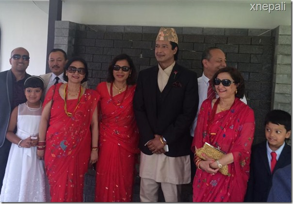 rajesh hamal marriage ceremony (2)