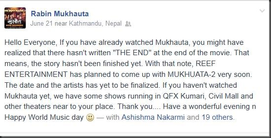 rabin shrestha on mukhuata