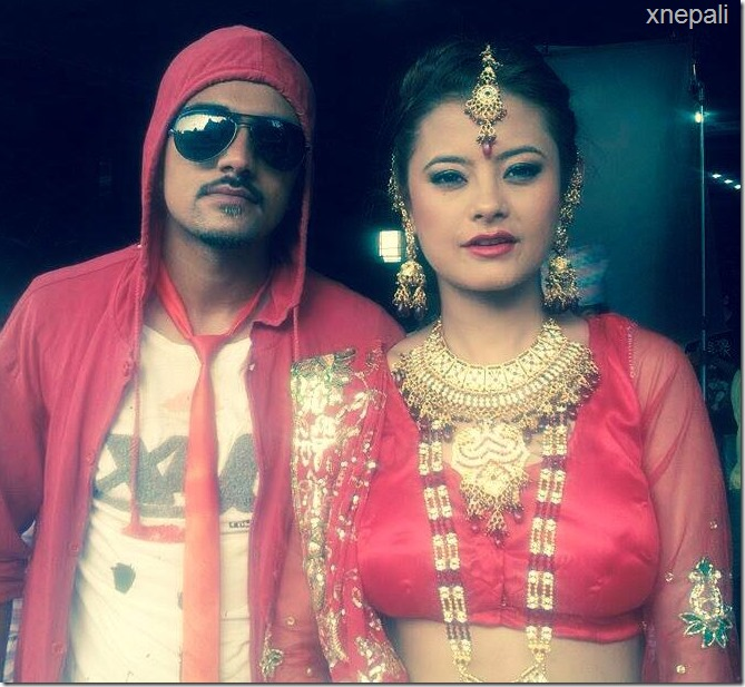 sushma karki teej song shooting (1)
