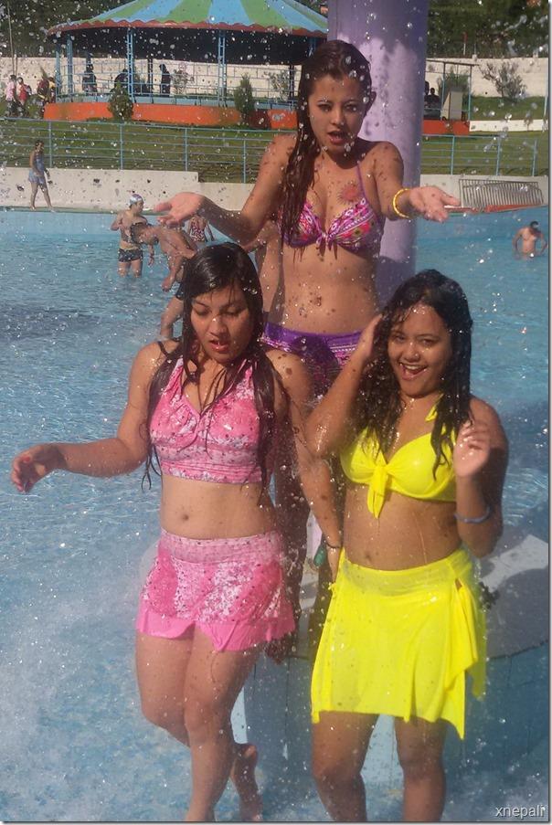 sushma karki in water partk enjoying (3)