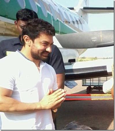 aamir khan arrives in Nepal (4)
