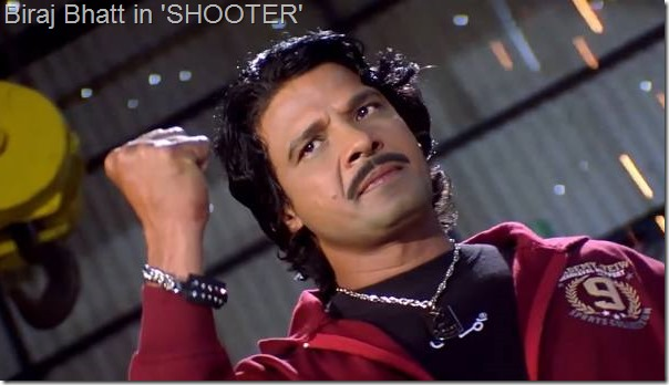 biraj bhatt in shooter