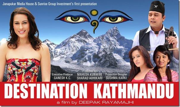 destination kathamndu shooting