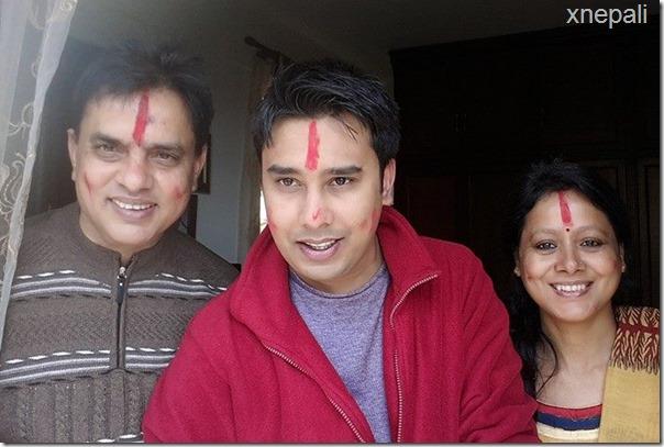 haribhansh acharya, mohit and ramila patahk