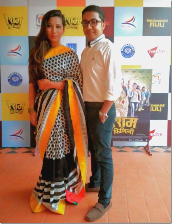 menuka pradhan resham filili actress