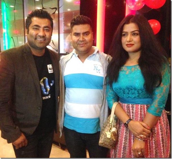 nai nabhannu la show rekha with director shabir shrestha and sunil rawal