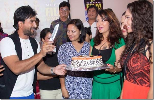 nefta award cake