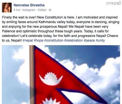 namrata shrestha on nepal constitution