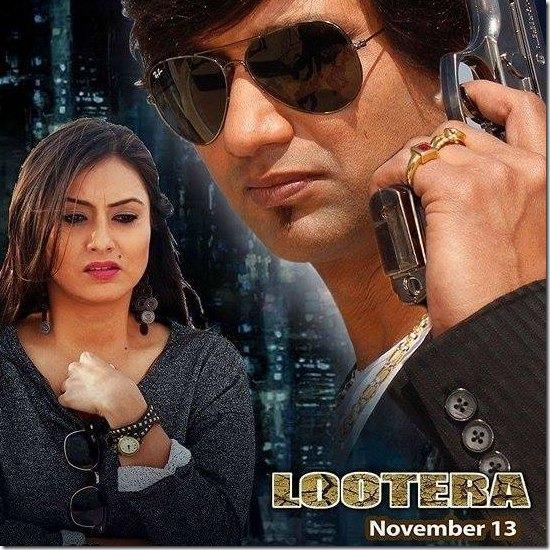 nisha adhikari in lootera poster