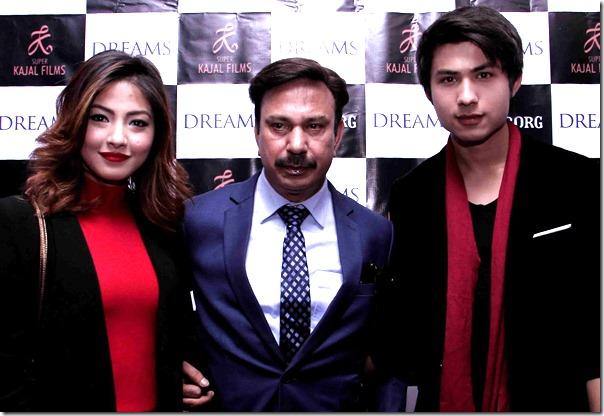 anmol kc with bhuwan kc and samragyee