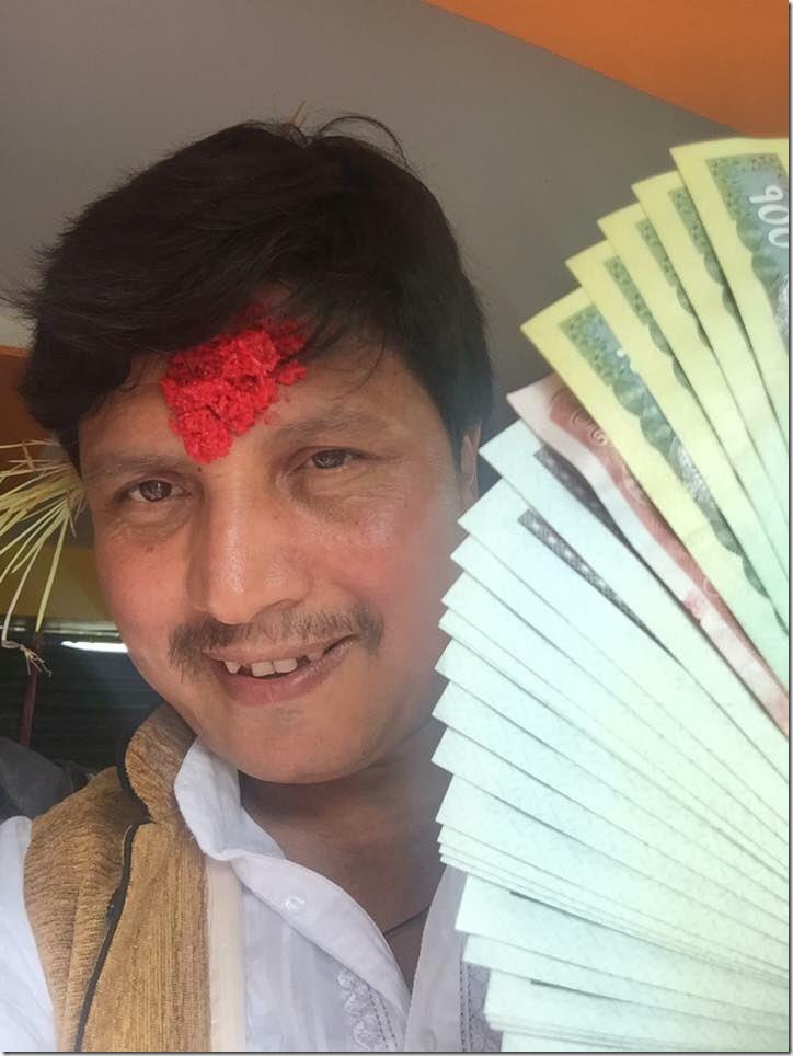 Deepak Raj Giri Dashain 2016