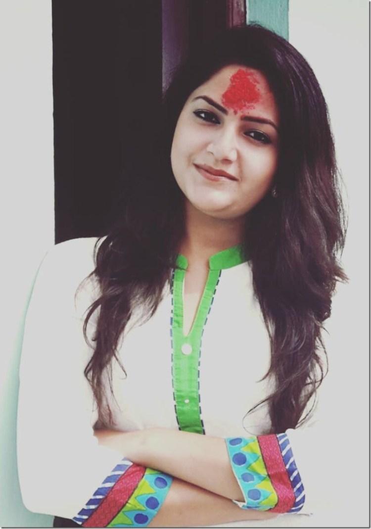 barsha siwakoti Dashain 2016